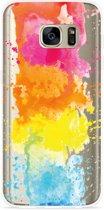 Galaxy S7 Hoesje Color Splatters