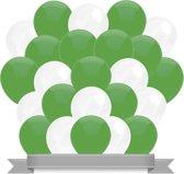 Ballonnen Groen / Wit (30ST)