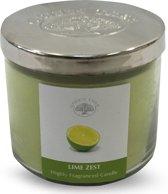 Green Tree Geurkaars lime zest 600 gram