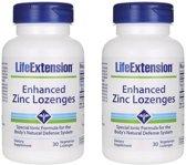 Enhanced Zinc Lozenges, 30 Vegetarian Lozenges, 2-pack