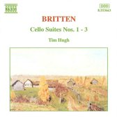 Britten: Cello Suites no 1-3 / Timothy Hugh