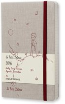 Moleskine 2016 Le Petit Prince Limited Edition Daily Planner, 12m, Large, Hard Cover (5 X 8.25)