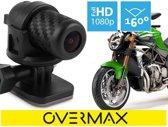 Professionel Overmax Motocam 3.0 professionele groothoek camera voor motorrijders met auto start, loop functie full HD opname 7 G-sensor