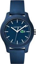 Lacoste 2000955 Horloge - Siliconen - Blauw - 38 mm