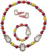 Nijntje Houten sieraden set met Nijntje-afbeelding