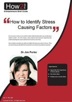 How to Identify Stress Causing Factors