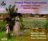 French Piano Impressions: Debussy, Faure, Ravel, Satie