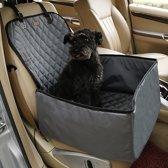 Stoelbeschermer - Autostoel beschermhoes voor honden - Stoelhoes - Honden autostoel 45 x 45 cm Grijs