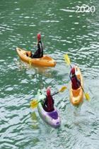 2020: Diary, Weekly Planner, Organiser, Year 2020 - Week Per View. Gift for Canoeing Fan