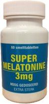 Melatonine 3 mg (60 smelttabletten)