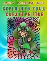 Adult Coloring Book Exploring Your Creative Side