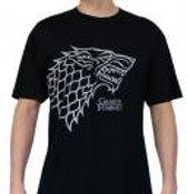 GAME OF THRONES - Tshirt Stark man SS black - basic