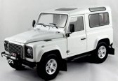 Land Rover Defender 90 1:18 Kyosho Wit 08901FW