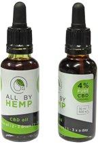 All by Hemp 4% CBD-olie (30ml)