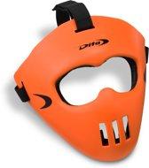 DITA? Facemask Spelersmasker Unisex - Fluo rood/zwart