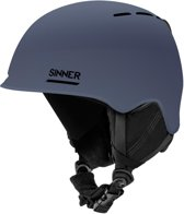Sinner Fortune Unisex Skihelm - Grijs - Maat XL/62 cm