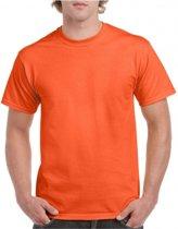 Voordelige oranje t-shirts M