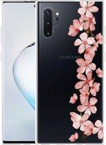 Galaxy Note 10 Plus Hoesje Flower Branch