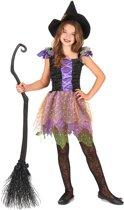 Kleurrijk heks kostuum voor meisjes - Verkleedkleding - 134-146