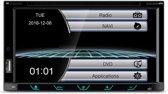 Navigatie KIA CEE'D 2012+ (Left wheel / Black) inclusief frame Audiovolt 11-421