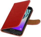 Samsung Galaxy A5 (2017) Hoesje Zakelijke Bookstyle Rood