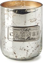 Riviera Maison RM Scented Candle Cannes - Geurkaars - Zilver