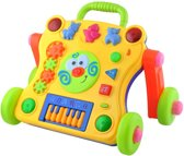 Baby Loopkar - Loopkarretje Duwkar - Baby Walker - Loophulp Duwwagen Looprek - 1/2/3/4 Jaar Interactief