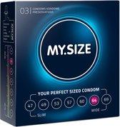 My.Size 64 - 3 stuks - Condooms