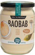 Terrasana raw baobab pdr eko - 190 gram - Superfood