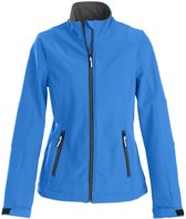 Printer Trial Lady Softshell Jacket Ocean blue XL