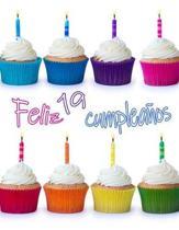 Feliz 19 Cumplea�os: �Mejor Que una Tarjeta de Cumplea�os! Lindo Magdalena Dise�ado Libro de Cumplea�os que se Puede Utilizar como un Cuade