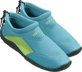 BECO neopreen waterschoenen - turquoise/groen - maat 38