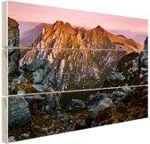 FotoCadeau.nl - Berg Orion Australie Hout 80x60 cm - Foto print op Hout (Wanddecoratie)