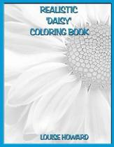 Realistic 'daisy' Coloring Book