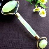 Jade roller - Gezichtsroller - Anti acné - Anti donkere kringen - Anti wallen - Anti rimpels - Gezichtsmassage - Anti hoofdpijn - Afvalstoffen reiniger - Hoge kwaliteit