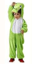 Krokodil kostuum kind maat 10-12 jaar - Maat 7-9