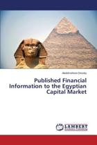Published Financial Information to the Egyptian Capital Market