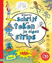 Boek cover Schrijf en teken je eigen strips van Verschillende Striptekenaars