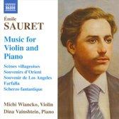 Sauret: Music For Violin + Piano
