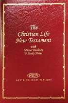 NKJV, Christian Life New Testament, Leathersoft, Burgundy