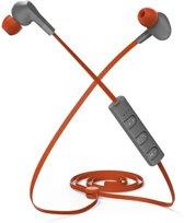 Thomson WEAR6206BT Bluetooth®-sport-koptelefoon, in-ear, microfoon, oranje/grijs