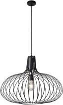 Lucide MANUELA - Hanglamp - Ø 65 cm - E27 - Zwart