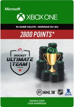 NHL 18 Ultimate Team - NHL Points 2800 - Consumable - Xbox One