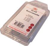 TIP glasboor cassette Glasboor, opnamesysteem cilindrische insteekas