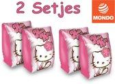 Hello Kitty - Zwem mouwtjes - Zwembandjes - Zwemvleugels - 15 x 25 cm - 2 setjes
