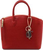 Tuscany Leather Dames Handtas TL Keyluck klein model - Rood - Handtas in Safiano leer - TL141265