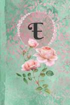 Personalized Monogrammed Letter E Journal