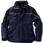 Snickers Veiligheidskleding all-weather jack blauw/zwart 1328-9504 M