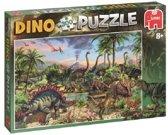 Puzzle Dino 300 stukjes - Legpuzzel dinosaurussen