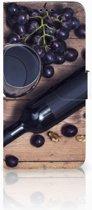 Samsung Galaxy S9 Plus Uniek Boekhoesje Wijn